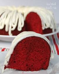 red velvet bundt cake chocolate chocolate and more