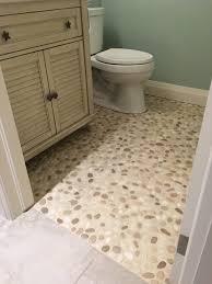 White Pebble Tiles Bathroom - bathroom simple pebble bathroom tiles design ideas modern luxury
