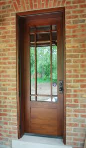Frame Exterior Door Timber Frame Exterior Doors New Energy Works