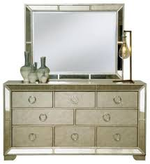 Modern Mirrored Nightstands Bedroom Furniture Sets Mirrored Chest Drawers Contemporary