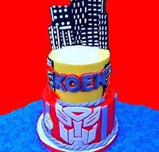 transformers cakes a transformer cake