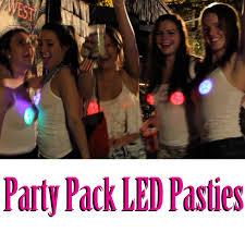 led light up pasties party pack bulk light up led pasties 10 pairs bachelorette