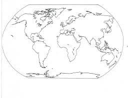 Beautiful World Map by World Map Coloring Page Chuckbutt Com