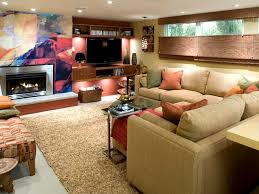 Design For Basement Makeover Ideas Remarkable Family Room Living Ideas Basement Makeover Idea