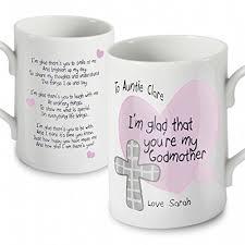 godmother mugs personalised godmother mug co uk kitchen home