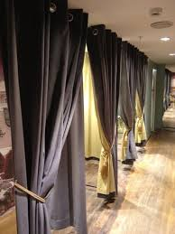 Fitting Room Curtains Dressing Room Curtains For Ted Baker Store By The Window Dresser