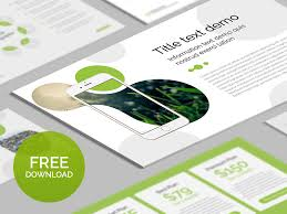 free powerpoint template organic by hislide io dribbble