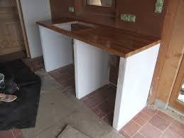construire sa cuisine en bois enchanteur construire un ilot de cuisine inspirations avec