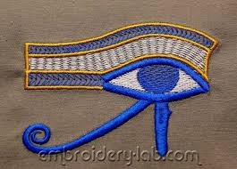 the eye of horus machine embroidery designs embroidery lab