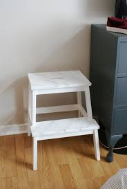 the interior diyer ikea bekvam step stool gets a faux marble makeover