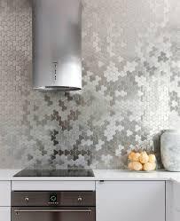 easy to clean kitchen backsplash kitchen design idea install a stainless steel backsplash for a