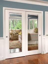 Sliding Glass Mirrored Closet Doors Moulding On Your Sliding Glass Closet Doors These Are