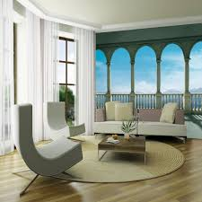 1 wall giant wallpaper mural columns panoramic sea view 3 15m x