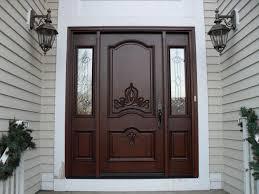 Beautiful Exterior Doors Decoration White Single Front Doors And Door Models Exterior Door