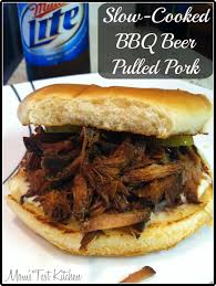 slow cooked bbq beer pulled pork mom u0027s test kitchen