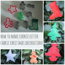 cookie cutter fabric decorations tea and a sewing machine