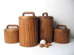 wooden kitchen canisters 94 best storage images on kitchen canisters vintage