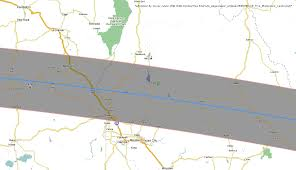 Map Of Redmond Oregon by Total Solar Eclipse 2017 Maps Of The Path