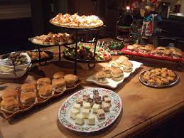 Festive Dinner Party Menu - treat your guests to amazing food with private party catering