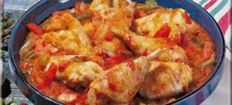 cuisine poulet basquaise poulet basquaise recettes cookeo