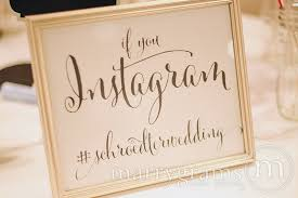wedding wishes hashtags wedding reception instagram hashtag sign social media