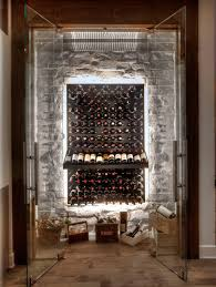 glass enclosed wine cellars u2013 stact wine racks