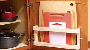 Kitchen Cabinet Door Storage Kitchen Closet Organization For Cabinet Door Storage Ideas