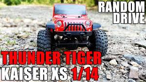 vaterra ascender jeep comanche pro thunder tiger kaiser xs 1 14 random drive youtube