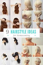 Formal Hairstyle Ideas by 9 Hairstyle Ideas For Homecoming Project Inspired