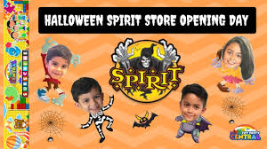 party central halloween spirit halloween store opening day 2017 youtube