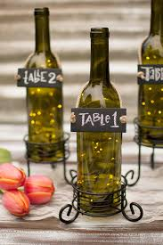 lights encapsulated in wine bottles perfectly adds flavor to