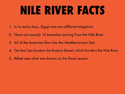 Nile River On Map Africa Nile River Facts Popular River 2017