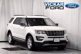 ford explorer new 2017 ford explorer xlt 4wd white platinum tri coat met for