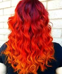 embray hair red ombre hair trend h m hair meida