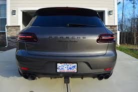 porsche macan agate grey agate grey macan turbo just detailed porsche macan forum