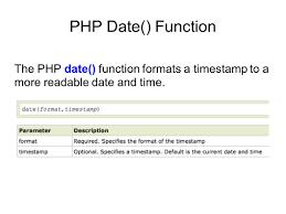 varchar date format php intermediate php mysql ppt video online download