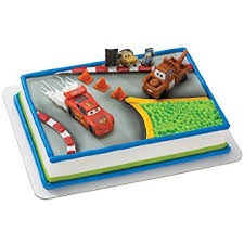 cars cake toppers disney s cars 2 cake topper party accessory co uk toys