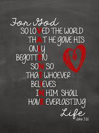 sweet blessings john 3 16 valentines