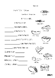 16 best images of cooking worksheets for cooking class printable