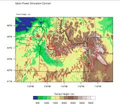 Map Of Boise Idaho Idaho Power Project Ncar Research Applications Laboratory Ral