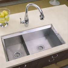 KNA Poise Stainless Steel Undermount Double Bowl Kitchen - Kitchen sinks kohler