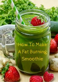 how to make a fat burning smoothie nutrition trend