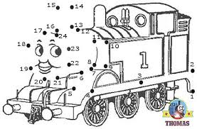 thomas train printable coloring pages pictures 8075
