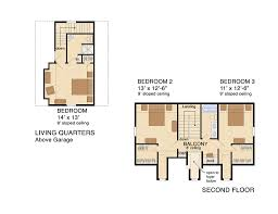 detached in law suite floor plans