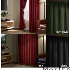Thermalogic Ultimate Blackout Thermal Liner by Blackout Curtain Liner These Curtains Show The Difference Between