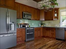 amazing two tone kitchen design with pale gray kitchen cabinets