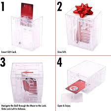 gift card maze trademark maze brainteaser puzzle unlocks gift card compartment