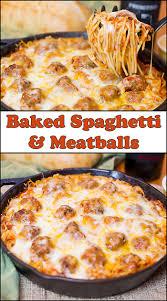 Two Meatballs In A Kitchen by Baked Spaghetti U0026 Meatballs Joy In Every Season
