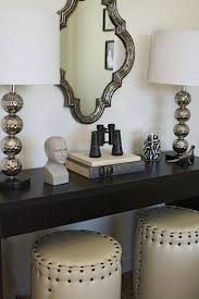 Quatrefoil Console Table Quatrefoil Mirrors Look For Less Architectural Motif Is
