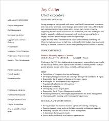 10 executive resume templates u2013 free samples examples u0026 formats